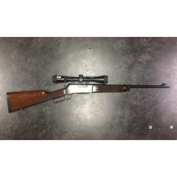 Browning 81 BLR 308 Win Lever Action Rifle w/Bushnell Legend 3-9 Scope