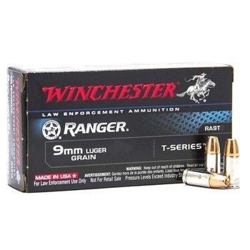 Winchester Ranger 9mm 147gr JHP T-Series Ammuntion
