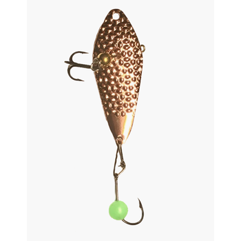 Freedom Hammered Minnow Spoon 3/8oz Copper