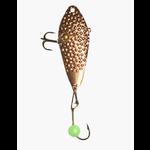 Freedom Hammered Minnow Spoon 1/8oz Copper