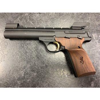 "Browning Buckmark 22 LR Walnut Pro Target 5.5"" Semi Auto Pistol"