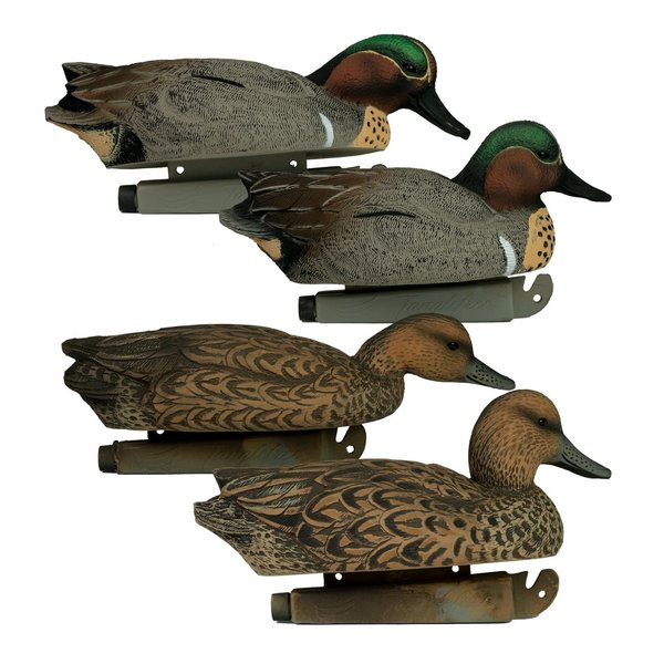 Tanglefree Flight Series Green Wing Teal 6 pack