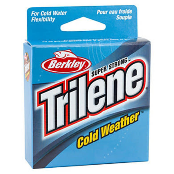 Trilene Cold Weather 6lb Mono. 110yds Electric Blue