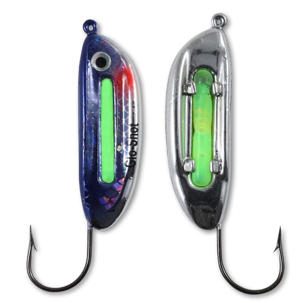 Northland Glo-Shot Jig Metallic Silver 3/8oz