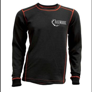 Backwoods Thermal Undershirt, Black, L