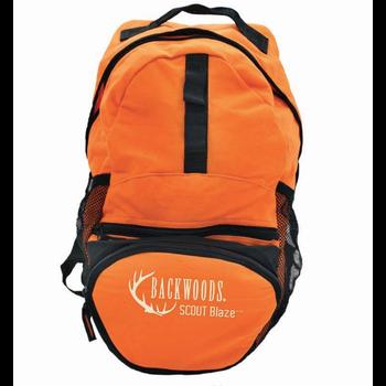 Backwoods Scout Backpack, Blaze Orange, 15L