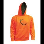 Hoody, Blaze Orange, S