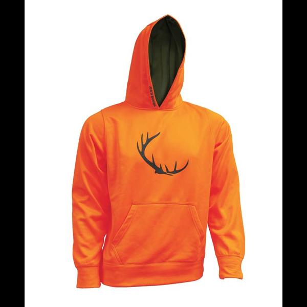 Hoody, Blaze Orange, XXL