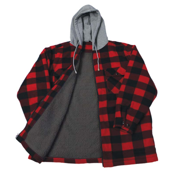 Backwoods Lumberjack Sherpa Lined Jacket, XXXL