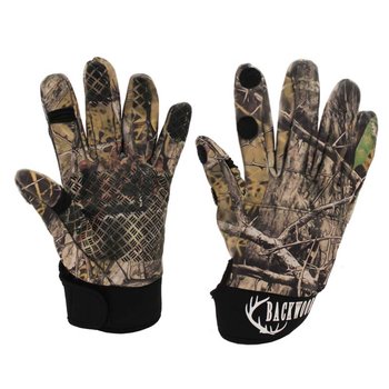 Backwoods Camo Hunting Gloves, XL