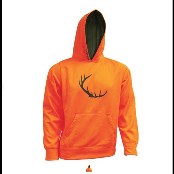 Backwoods Kid's Hoody, Blaze Orange, S
