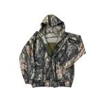 Backwoods Explorer Junior Jacket, Pure Camo Vertical HD, XL