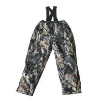 Backwoods Hunter Kid's Bib Pant, Pure Camo Verical HD, L