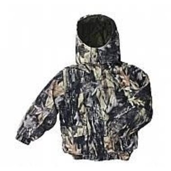 Backwoods Hunter Kid's Jacket, Pure Camo Verical HD, 12