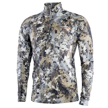 Sitka Merino Core Ltwt Half-Zip Optifade Elevated II XL