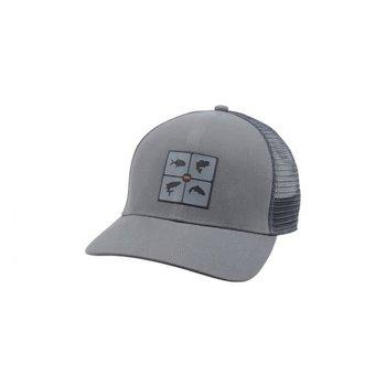 Simms Fish the World Trucker Hat OSFA
