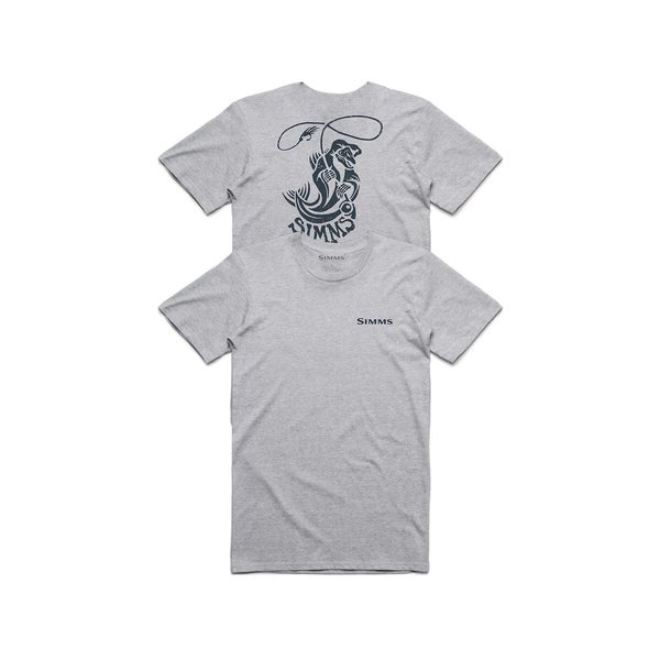 Simms Fish Reaper T-Shirt Grey XL