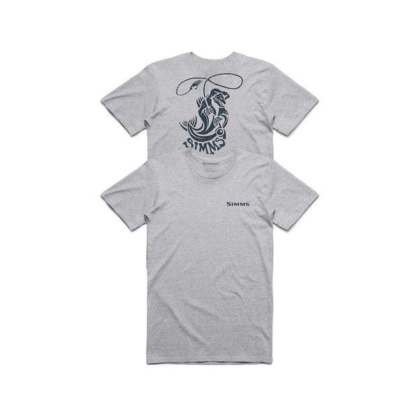 Simms Fish Reaper T-Shirt Grey XXL