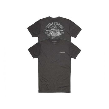 Simms Lightning Bass T-Shirt Charcoal XL