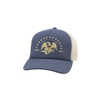 Simms Adventure Trucker Hat Blue Depths