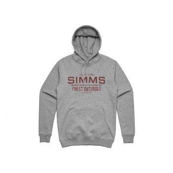 Simms Wader MFG Hoodie Gunmetal L
