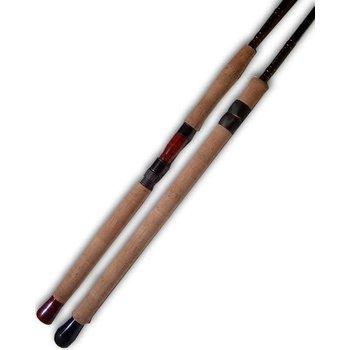 """Raven 12'6"""" IM6 Salmon Float Rod. 2-pc Sliding Rings"""