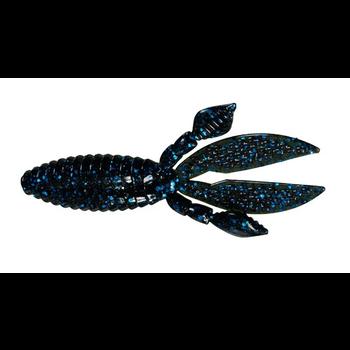 """Strike King KVD Rodent 4"""" Black Blue Flake 6-pk"""