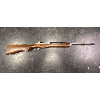 Ruger Mini 14 .223 Stainless Semi Auto Rifle w/Wood Stock & Muzzle Break