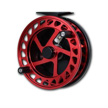 Raven Helix Centrepin Float Reel Red/Black