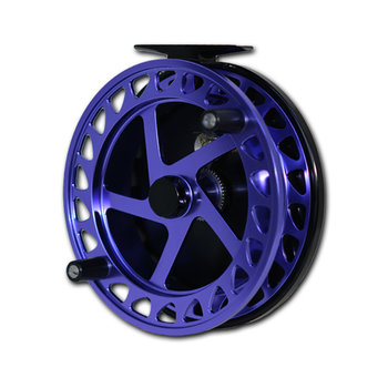 Raven Helix Centrepin Float Reel Purple/Black