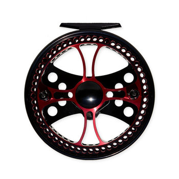 Raven Fusion XL Centerpin Float Reel - Red