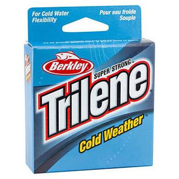 Trilene Cold Weather 3lb Mono. 110yds Electric Blue