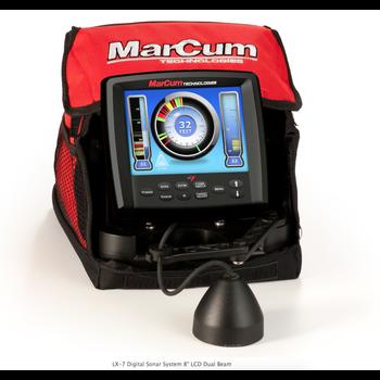 """MarCum LX-7 Digital Sonar System 8"""" LCD Dual Beam"""