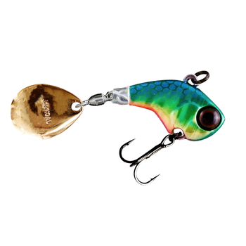 Jackall Deracoup 3/4oz Tail Spinner HL Lime Gold