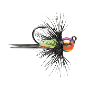 VMC Tungsten Bullfly Jig 1/32oz Metallic Rainbow