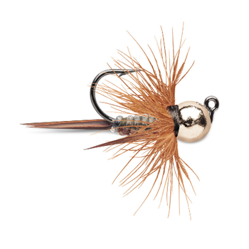 VMC Tungsten Bullfly Jig 1/16oz Metallic Gold