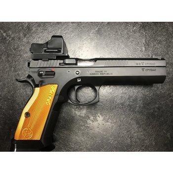 CZ 75 Tactical Sport Orange 9mm Pistol w/Vortex Razor