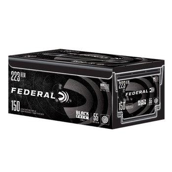 Federal Black Pack Ammo 223/5.56mm 55gr Full Metal Jacket 150 Rounds