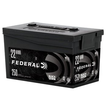 Federal Black Pack 22 WMR 40Gr FMJ Ammunition Box of 250
