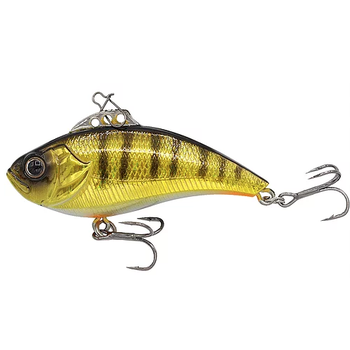 Euro Tackle Z-Viber 3/8oz Yellow Perch