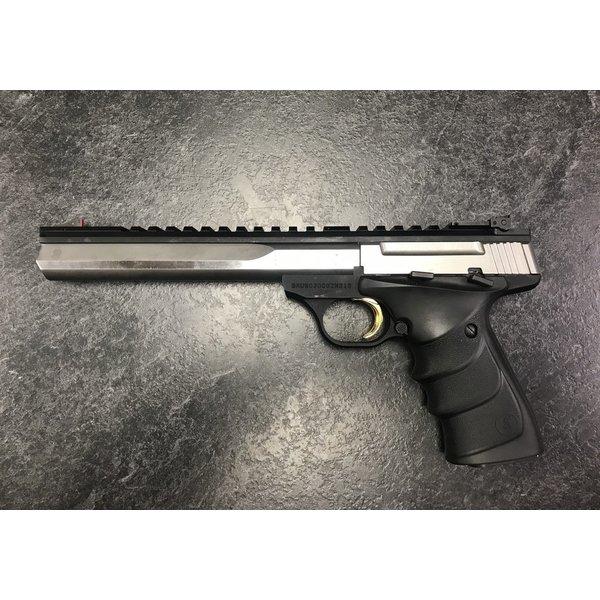 "Browning Buckmark Contour Stainless URX, 22 LR  7 1/4"" BBL Semi Auto Pistol w/Case"