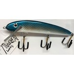 """Thursty Lures 9"""" Midnight Blue Shad"""