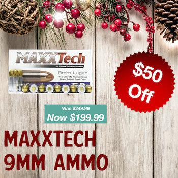 MaxxTech 9mm Ammo