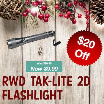 RWD Tak-Lite 2D Flashlight