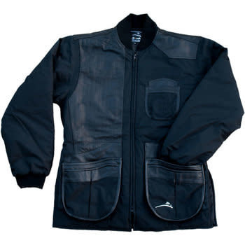 Wild Hare Cold Weather Shooting Jacket Left Hand, Black, L