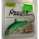 Meegs Black Green 3/4oz