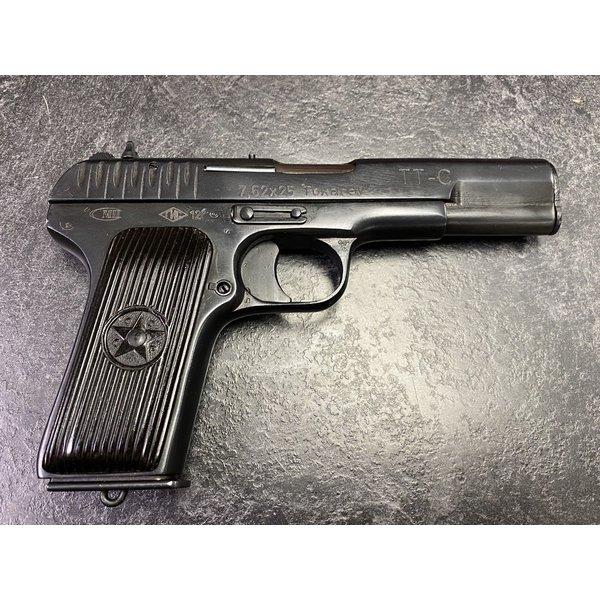 """Tokarev TT-33 - 7.62x25 Tokarev, 4.6"""" - Surplus Semi Auto Pistol"""