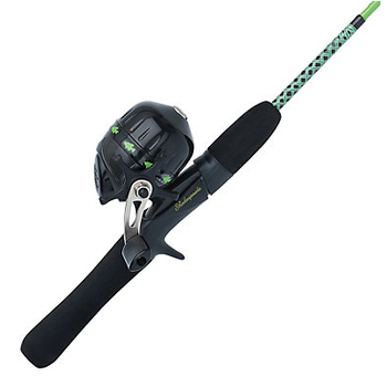 Shakespeare Ugly Stik JR Combo. Green 3'8""