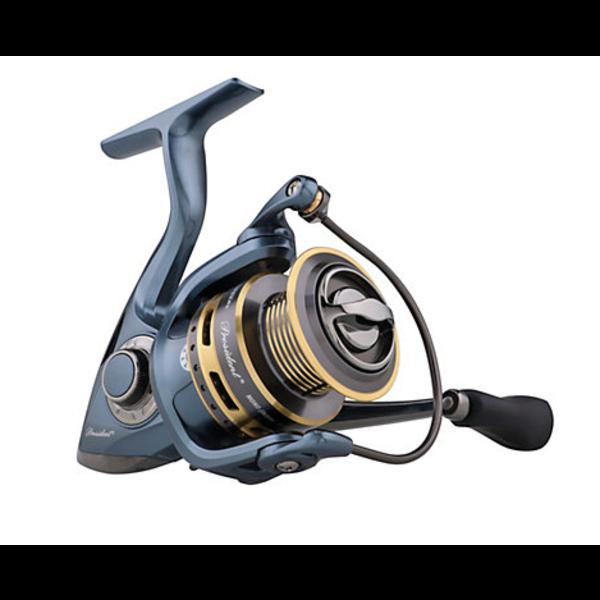 Pflueger President 35X Spinning Reel. (Clam Pack)