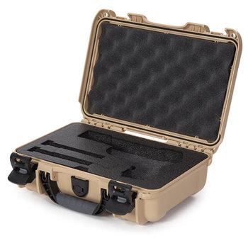 Nanuk 909 Case w/ Foam Insert for Classic Pistol, Tan  909-CLASG0